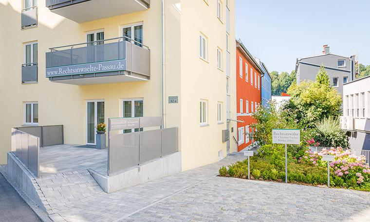 Die Rechtsanwaltskanzlei in Passau