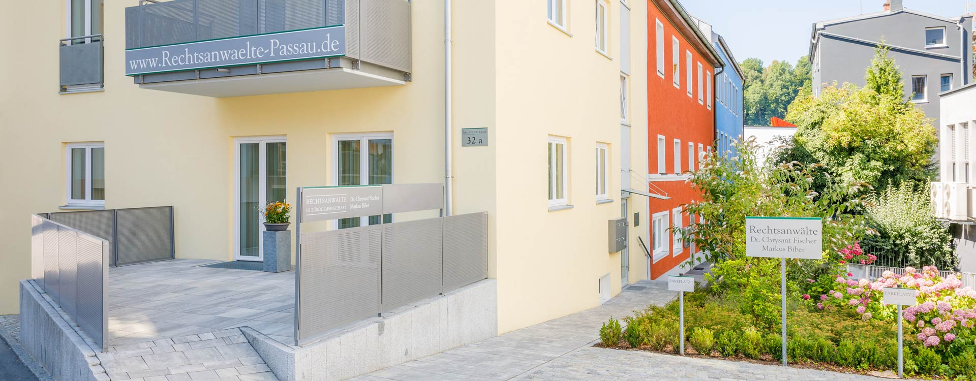 rechtsanwaltskanzlei in Passau