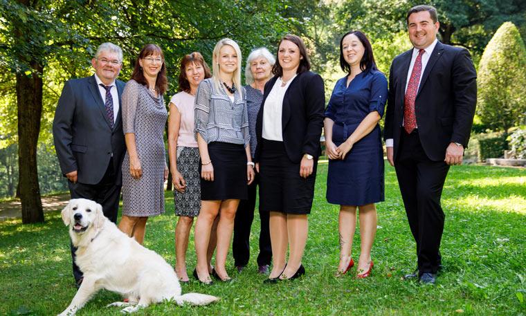 Team der Rechtsanwälte in Passau